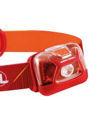 LED van de Petzl Tikkina  Rood Hoofdlamp