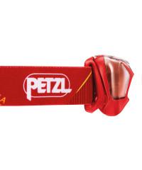Zijkant van de Petzl Tikkina - Rood