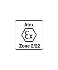 Atex zone 2/22 Hoofdlamp gekeurd