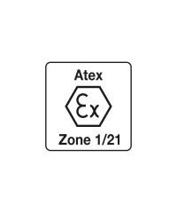 Atex zone 1/21 Hoofdlamp gekeurd