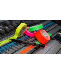 Pro Paper console tape om mengtafels te merken