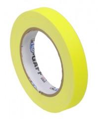 Pro-Gaff neon gaffa tape 19mm x 22,8m geel