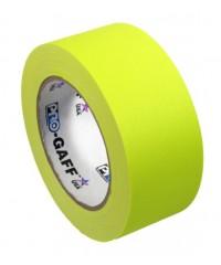 Pro-Gaff neon gaffa tape 48mm x 22,8m geel