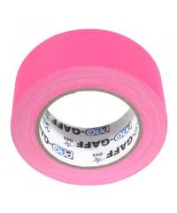 Pro-Gaff neon gaffa tape 48mm x 22,8m roze