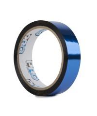 Pro metallic glans tape 24mm x 33m blauw