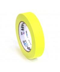 Pro-Gaff neon gaffa tape 24mm x 22,8m geel
