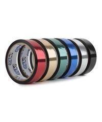 Pro metallic glans tape 24mm x 33m assortiment