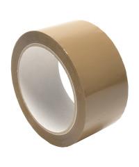 6 Rollen - Verpakkingstape PP bruin - RL Premium