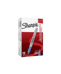 Sharpie permanent marker - fluoriserend Blauw - verpaking