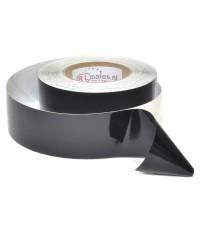Hoogglans tape zwart