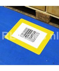 Vloer Markeringshoes in gebruik op magazijnvloer
