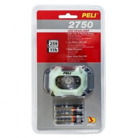 Peli 2750 LED Hoofdlamp Generation 3 Fotoluminescent