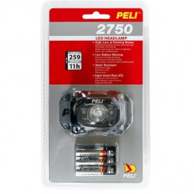 Peli 2750 LED Hoofdlamp Generation 3 Zwart