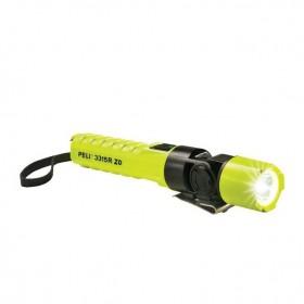 Peli 3315RZ0-RA LED Zone 0 Oplaadbare Zaklamp Haaks Geel