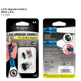 Nite Ize LED upgrade set t.b.v. MagLite AA