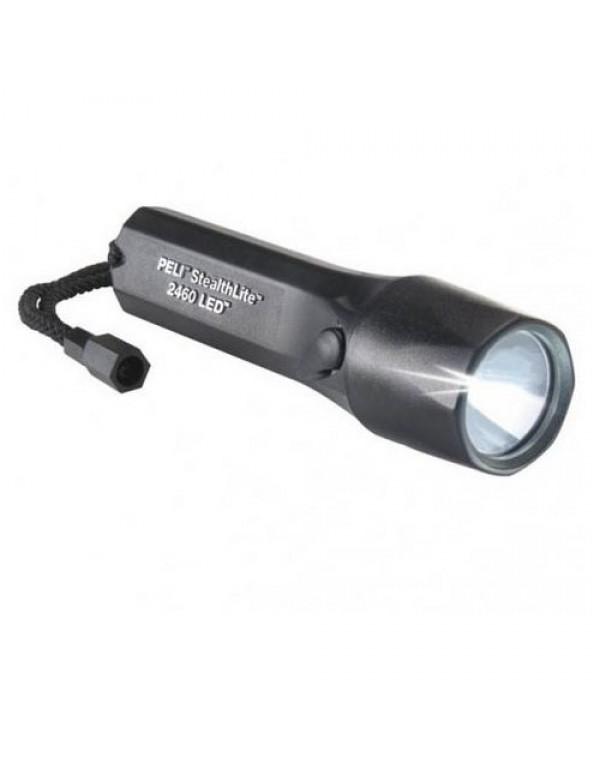 Peli Stealthlite 2460 LED Oplaadbare Zaklamp Zwart