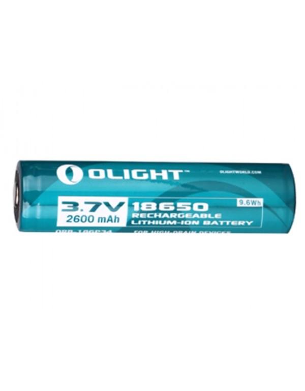 Olight oplaadbare lithium 14500 3.7V batterij - 750mAh