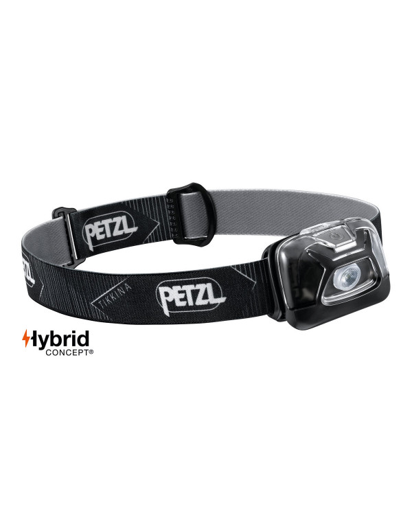 Petzl Tikkina - Zwart - Hoofdlamp - 250 lumen