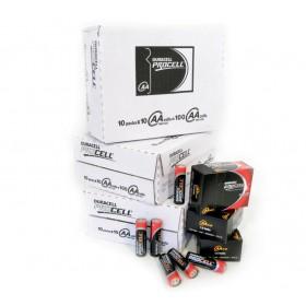 Duracell Industrial AA, doos 100 stuks