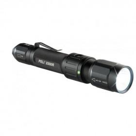 Peli 2380R LED Tactische Oplaadbare Zaklamp Zwart