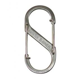 Nite Ize S-Biner #3 roestvrijstaal zilver