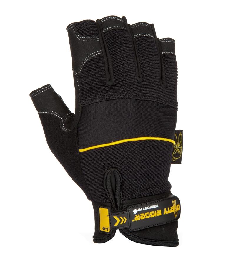 Dirty Rigger Fingerless handschoenen-L