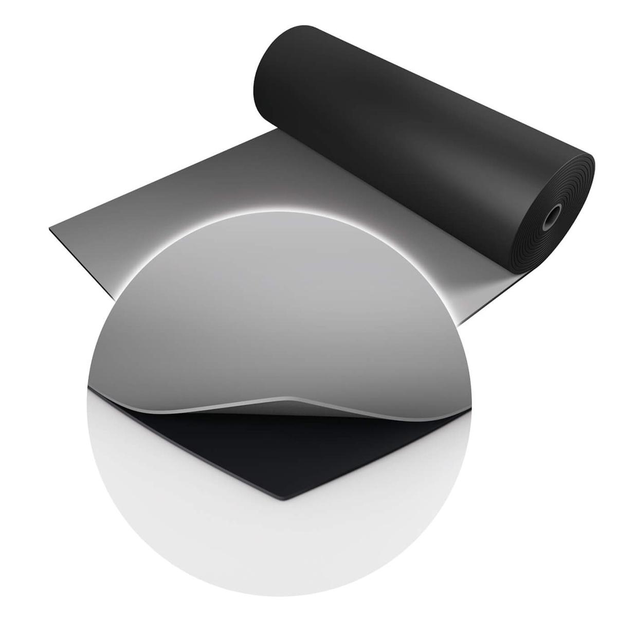 Two Stage dubbelzijdige dansvloer 2m x 15m zwart / grijs