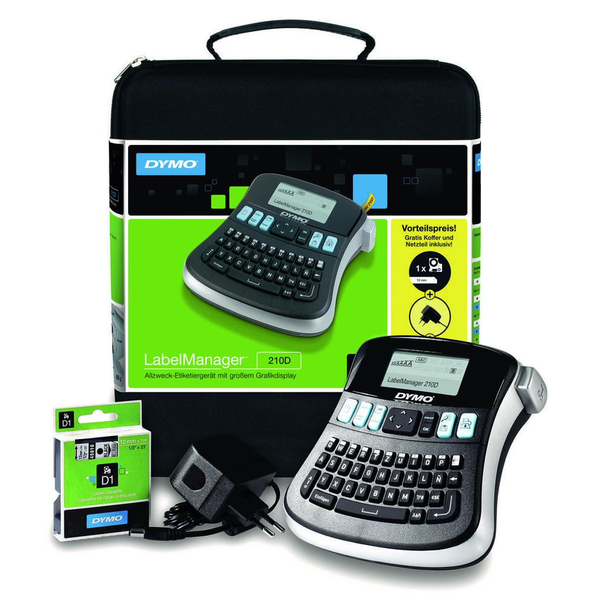 Dymo - LabelManager 210D QWERTY - Labelprinter
