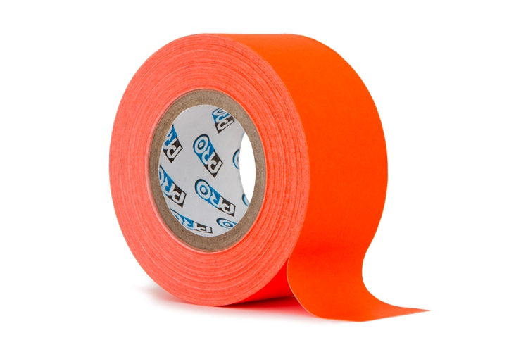 Pro paper tape mini rol 24mm x 9.2m neon oranje