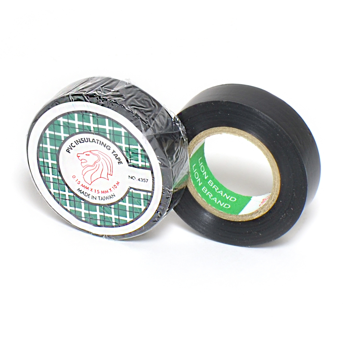 Lion PVC Isolatietape 15mm x 10m Zwart