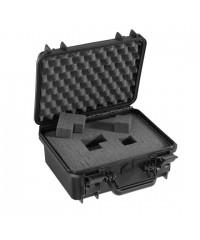Gaffergear camera koffer 030 zwart - incl. plukschuim  - 30,000000  x 14,800000 x 14,800000 cm (BxDxH)