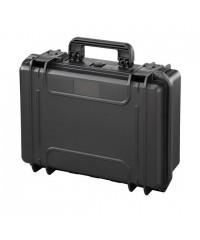 Gaffergear camera koffer 043 zwart - excl. plukschuim  - 36,600000  x 17,600000 x 17,600000 cm (BxDxH)