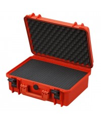 Gaffergear camera koffer 043 oranje- incl. plukschuim  - 36,600000  x 17,600000 x 17,600000 cm (BxDxH)