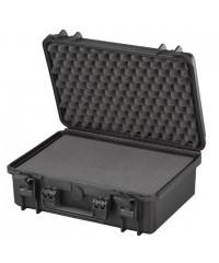 Gaffergear camera koffer 043 zwart - incl. plukschuim  - 36,600000  x 17,600000 x 17,600000 cm (BxDxH)