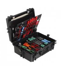 Gaffergear camera koffer 050 zwart -Met gereedschap opbergset  - 42,800000  x 21,100000 x 21,100000 cm (BxDxH)