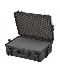 Gaffergear camera koffer 050 zwart - incl. plukschuim  - 42,800000  x 21,100000 x 21,100000 cm (BxDxH)
