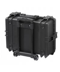 Gaffergear camera koffer 050 zwart trolley uitvoering-Met gereedschap opbergset  - 44,500000  x 25,800000 x 25,800000 cm (BxDxH)