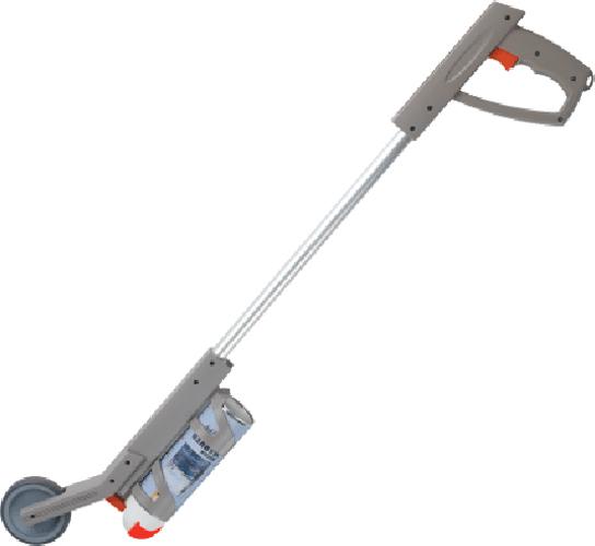Mercalin markeerwagen  PVC pistool met 1 wiel