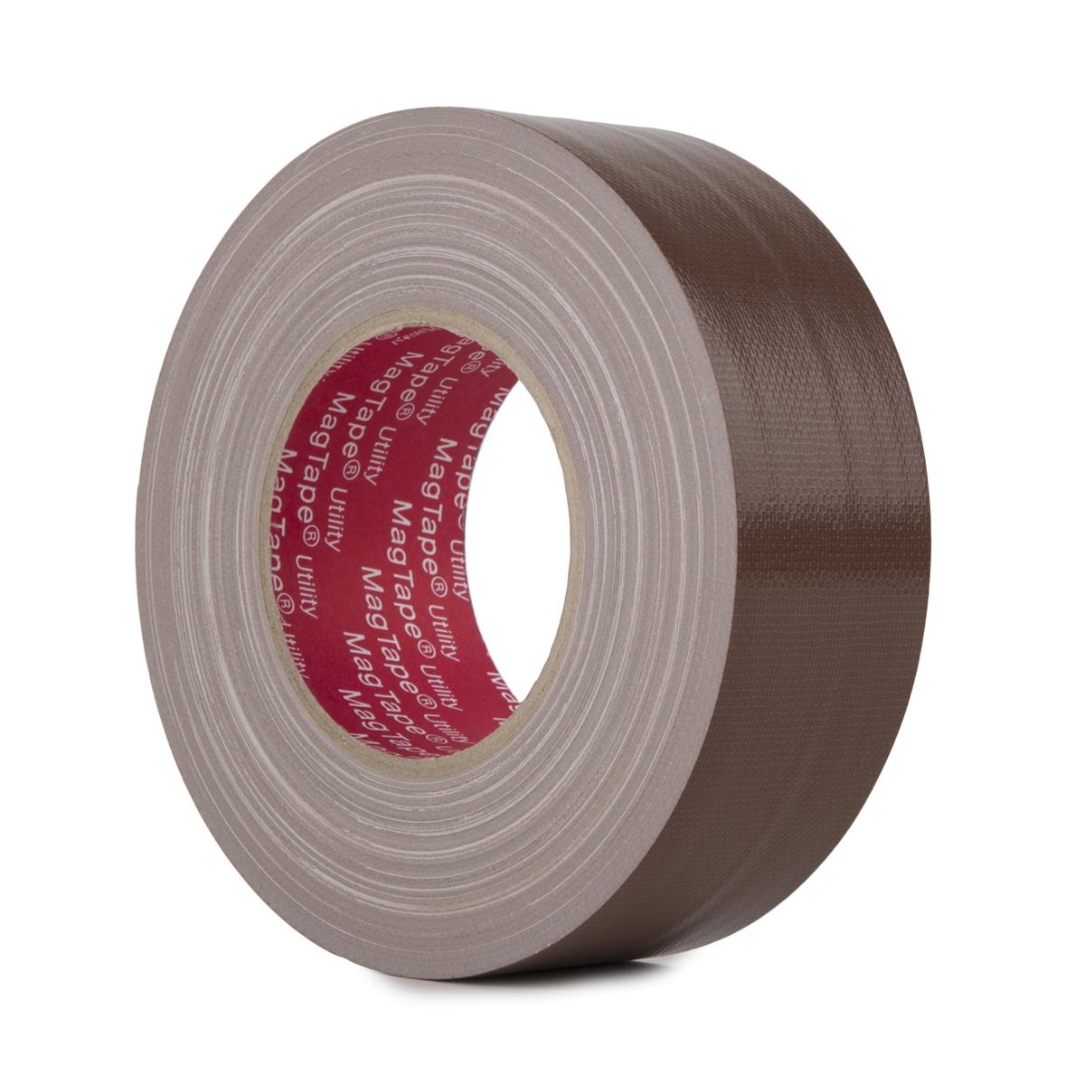 MagTape Utility gaffa tape 50mm x 50m bruin