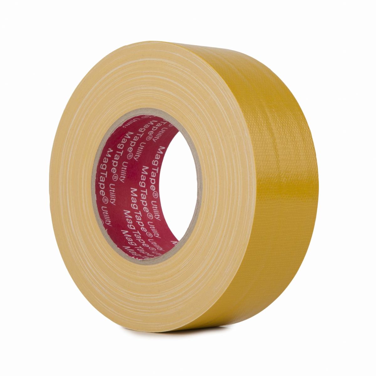 MagTape Utility gaffa tape 50mm x 50m geel