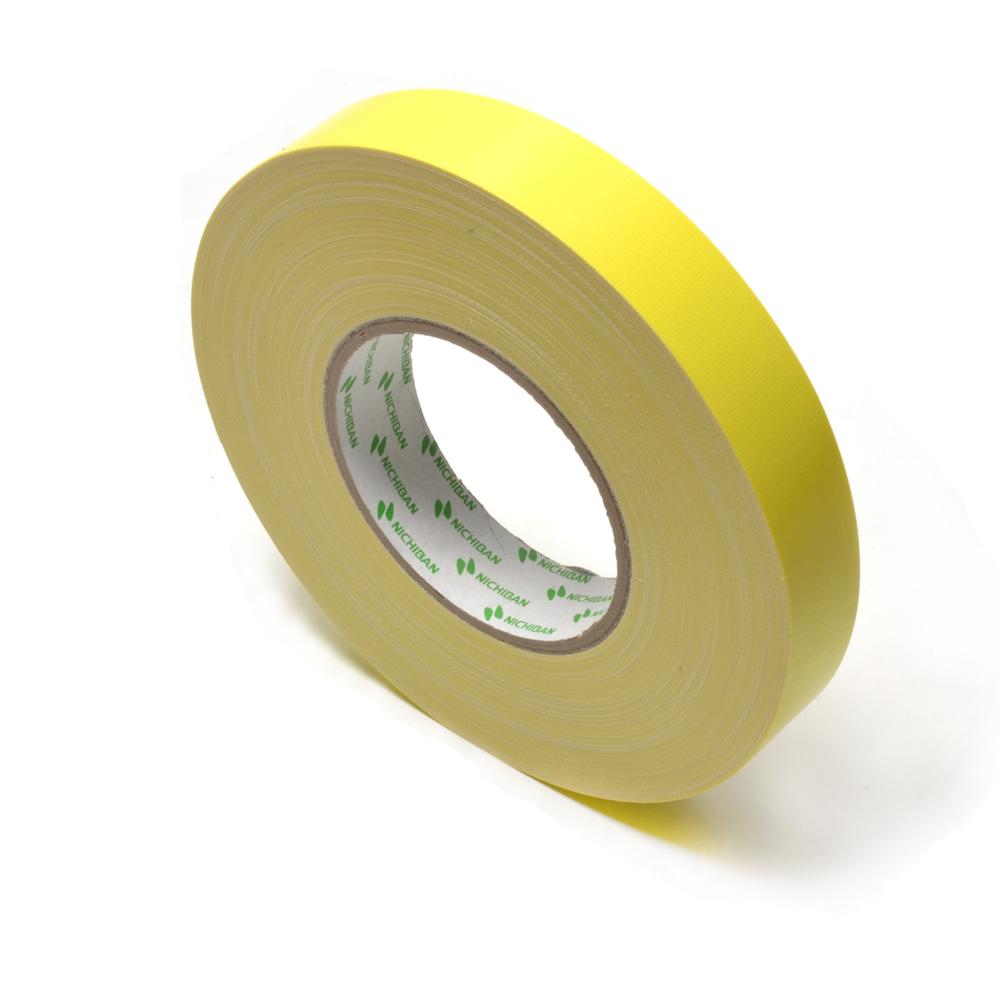 Nichiban - gaffa tape  - 25 mm x 50 m - Geel