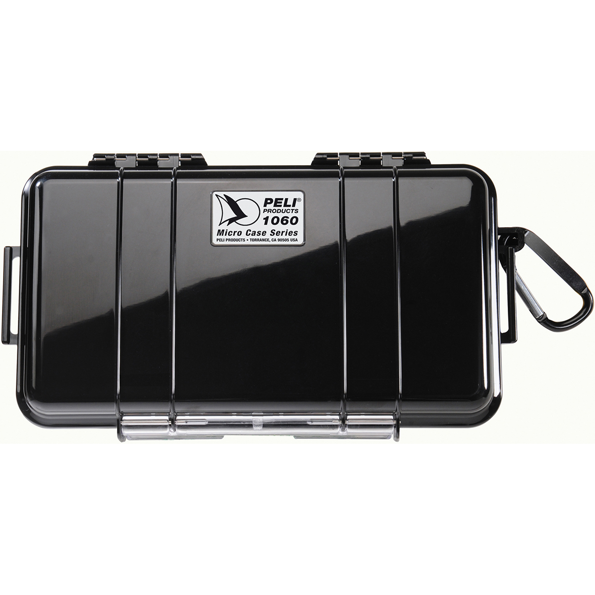 Peli Case 1060 Micro Zwart / Zwart