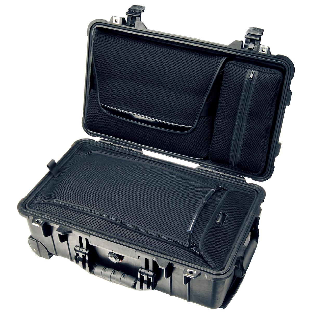 Peli Case 1510 Zwart-Met laptop en overnachtingsindeling