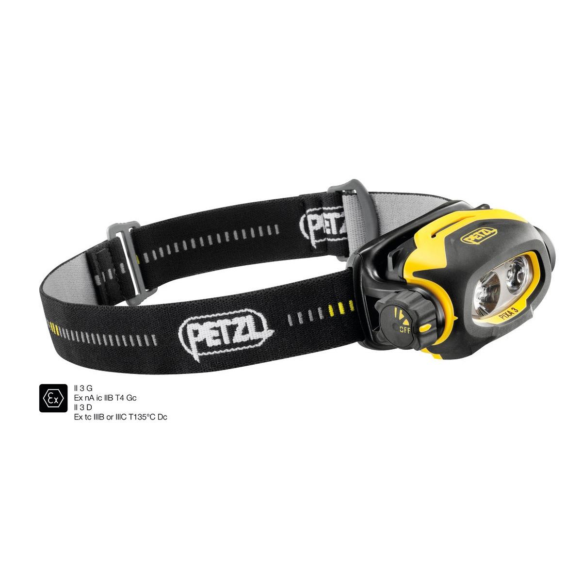 Petzl Pixa 3 - Atex Zone 2/22 - Hoofdlamp
