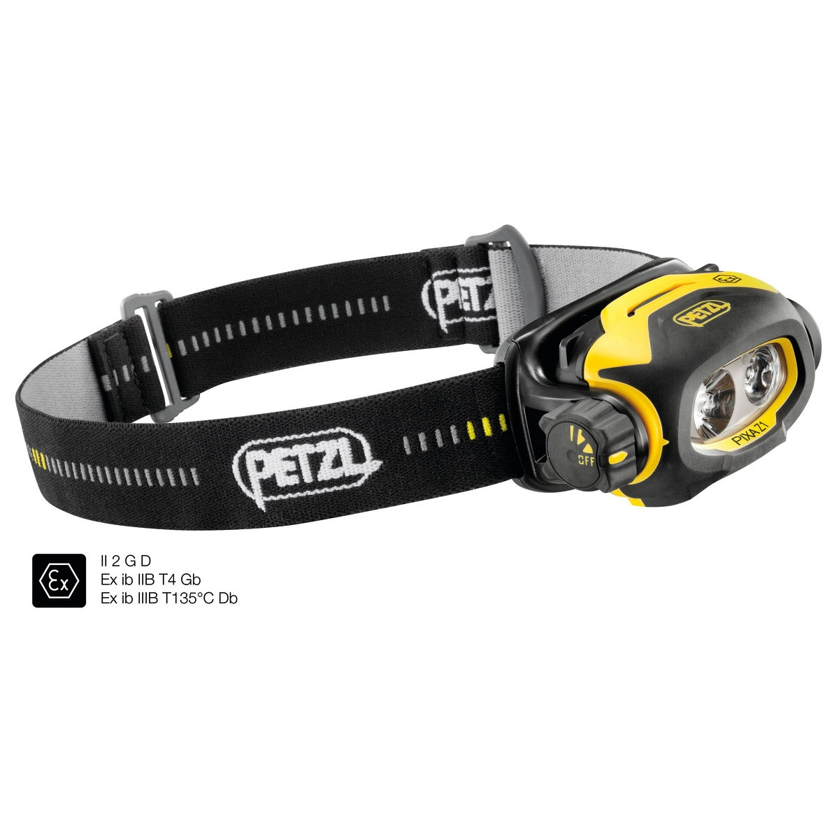 Petzl Pixa Z1 - Atex Zone 1/21 - Hoofdlamp