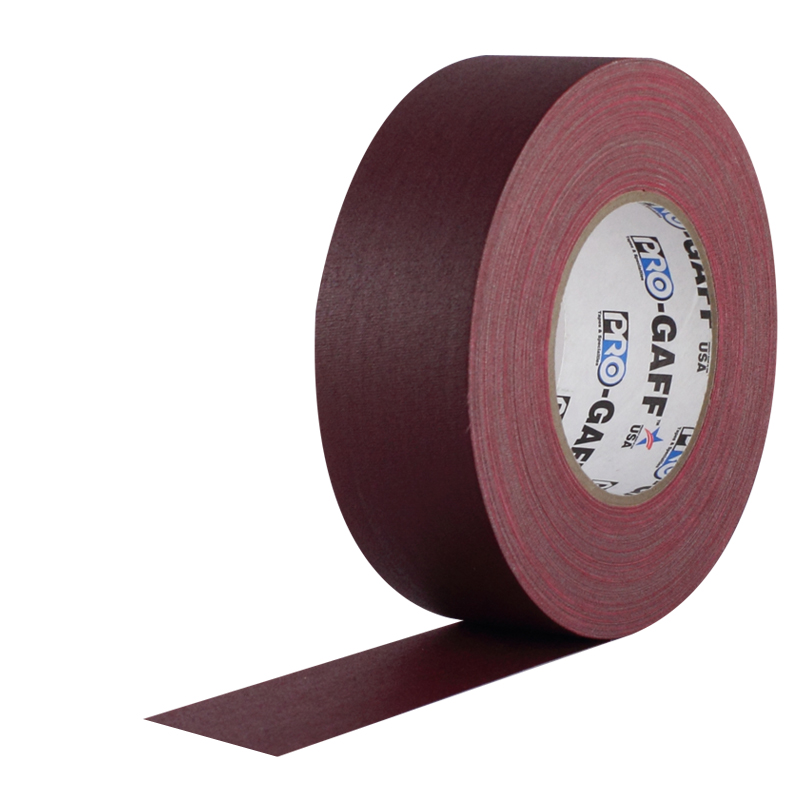 Pro-Gaff gaffa tape 48mm x 22,8m burgundy