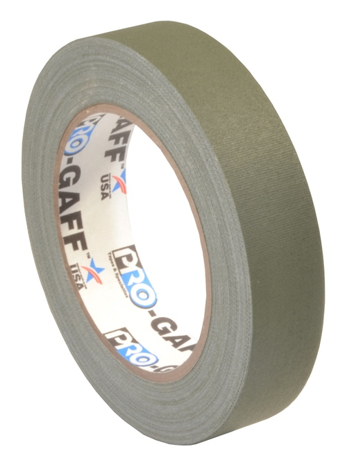 Pro-Gaff gaffa tape 24mm x 22,8m olive drap