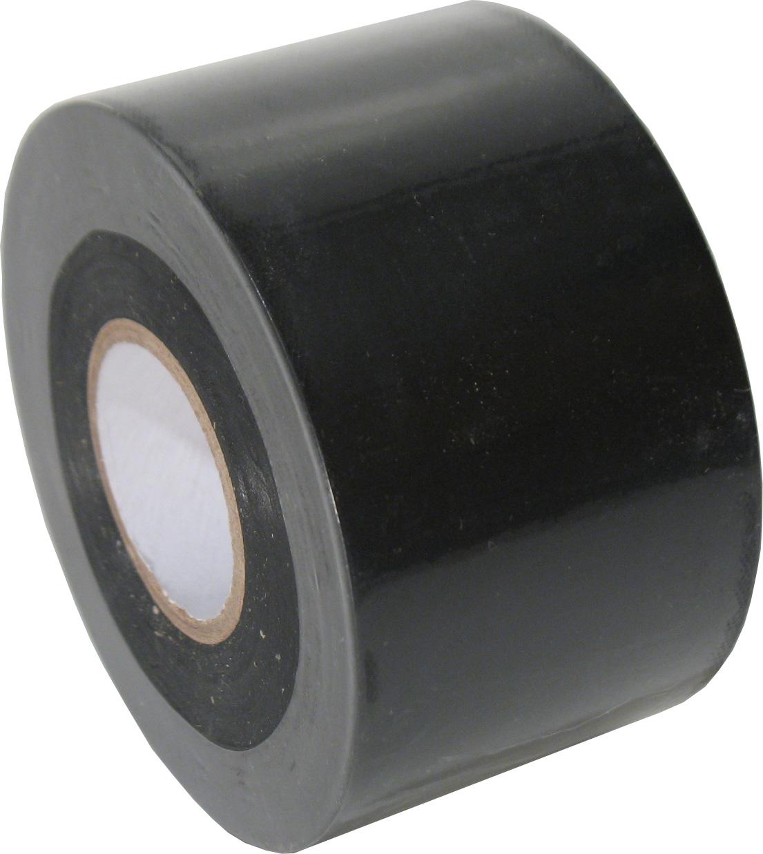 RL-7 PVC soft(vloer)tape 50mm. x 33m. Zwart