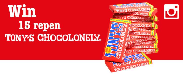 Win 15 repen Tony's Chocolonely