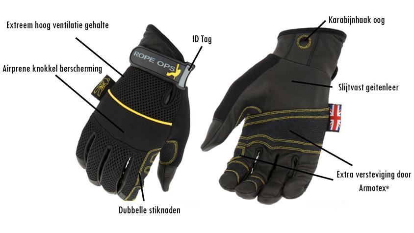 Dirty Rigger Rope Ops handschoenen